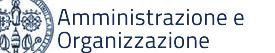 Amministrazione e Organizzazione